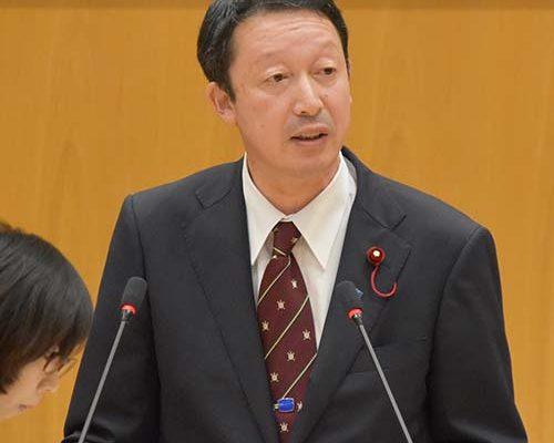 新潟市議会に於いて初質問に立つ(令和元年6月24日㈪)