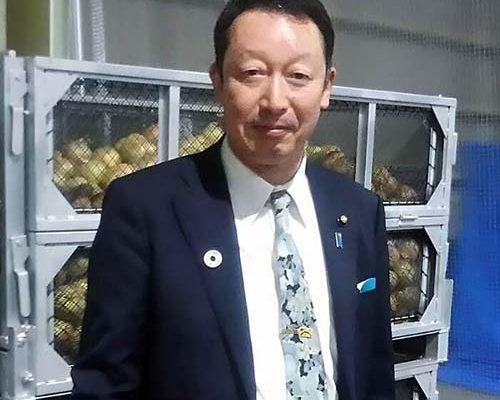 6/29 西区山田のJA全農新潟たまねぎ広域出荷施設を視察させていただきました。
