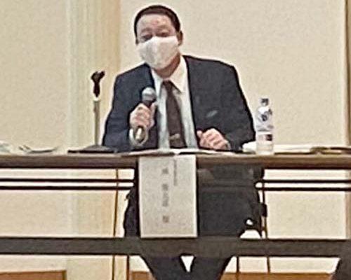 11/13 亀田、新津両商工会議所青年部(YEG)の合同研修事業があり、講師としてお招きいただきました。