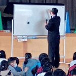 10/18 母校の小学校で神社とお祭りについての講話をさせていただきました。